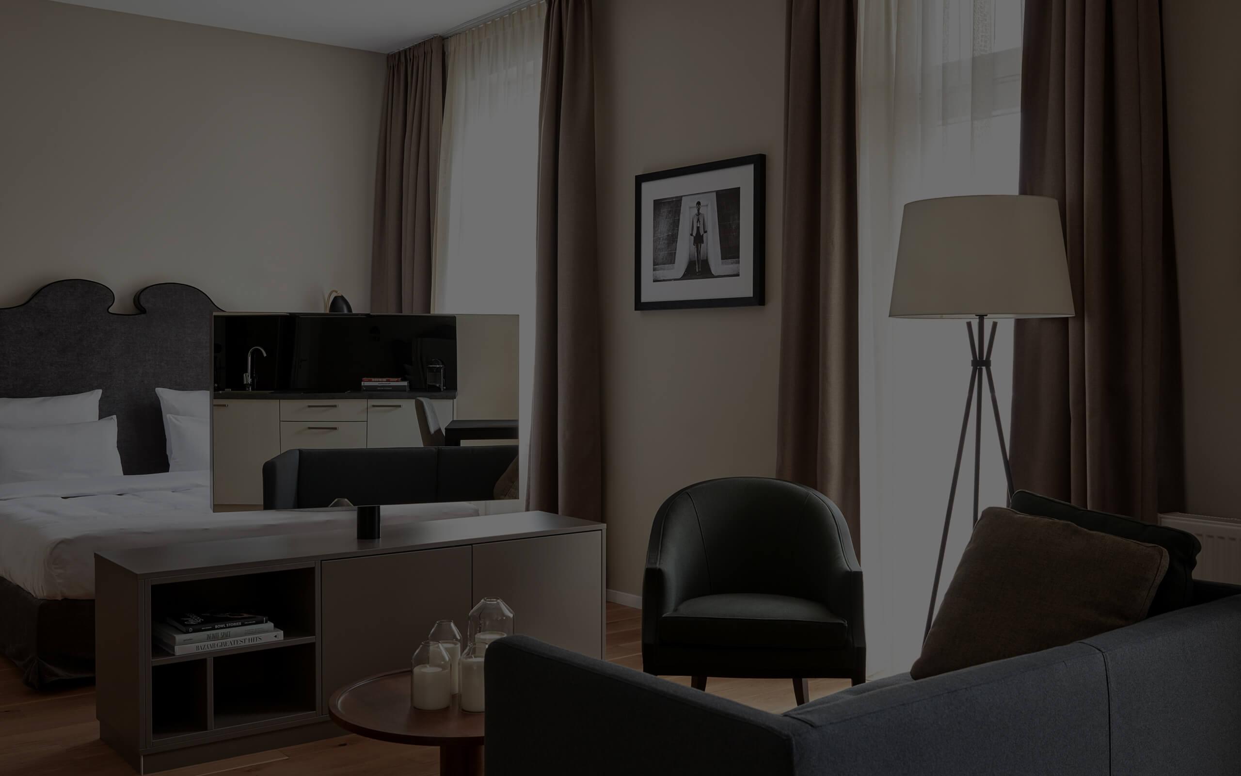 Roomers Baden-Baden Living