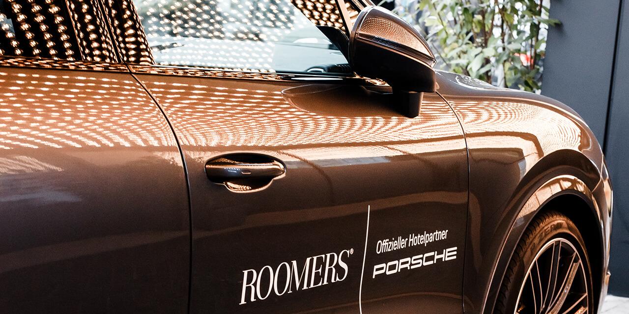 Roomers Munich Shuttelservice Porsche