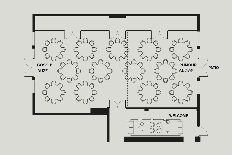 Roomers Baden-Baden Floorplan Overview Conference