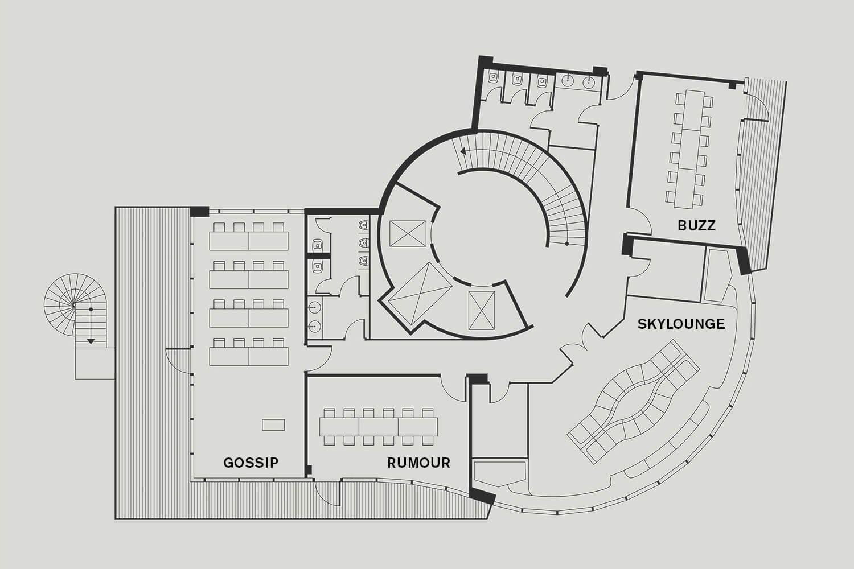 Roomers Frankfurt Floorplan Meeting Event
