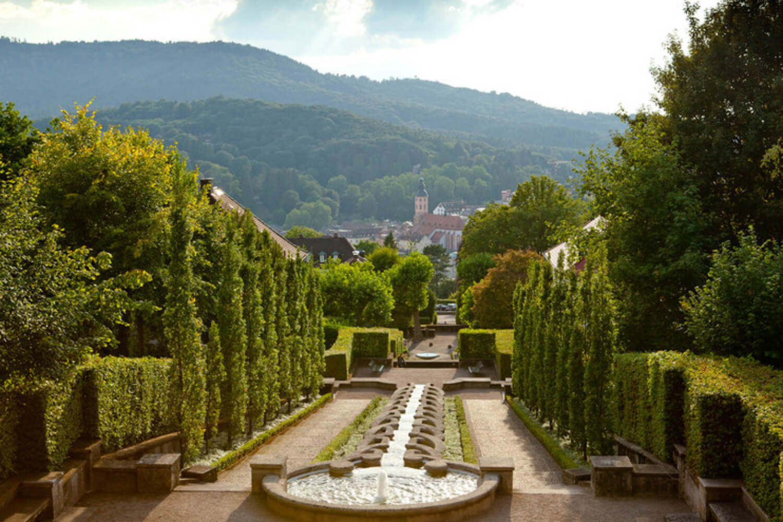 Roomers Baden-Baden Wasserkunstanlage Paradies