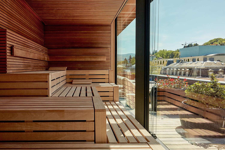 Roomers Baden-Baden Sauna