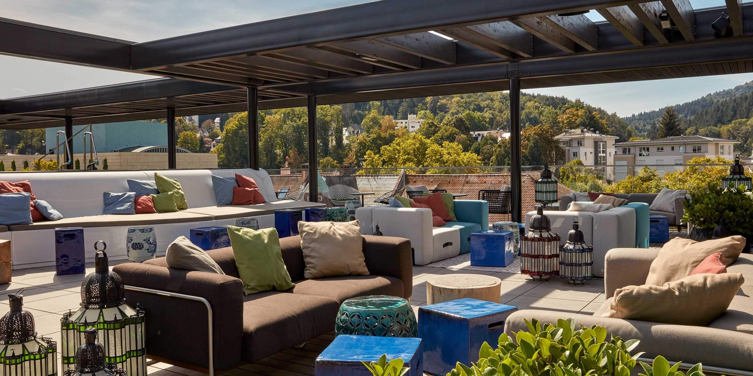Roomers Baden-Baden Rooftop Bar