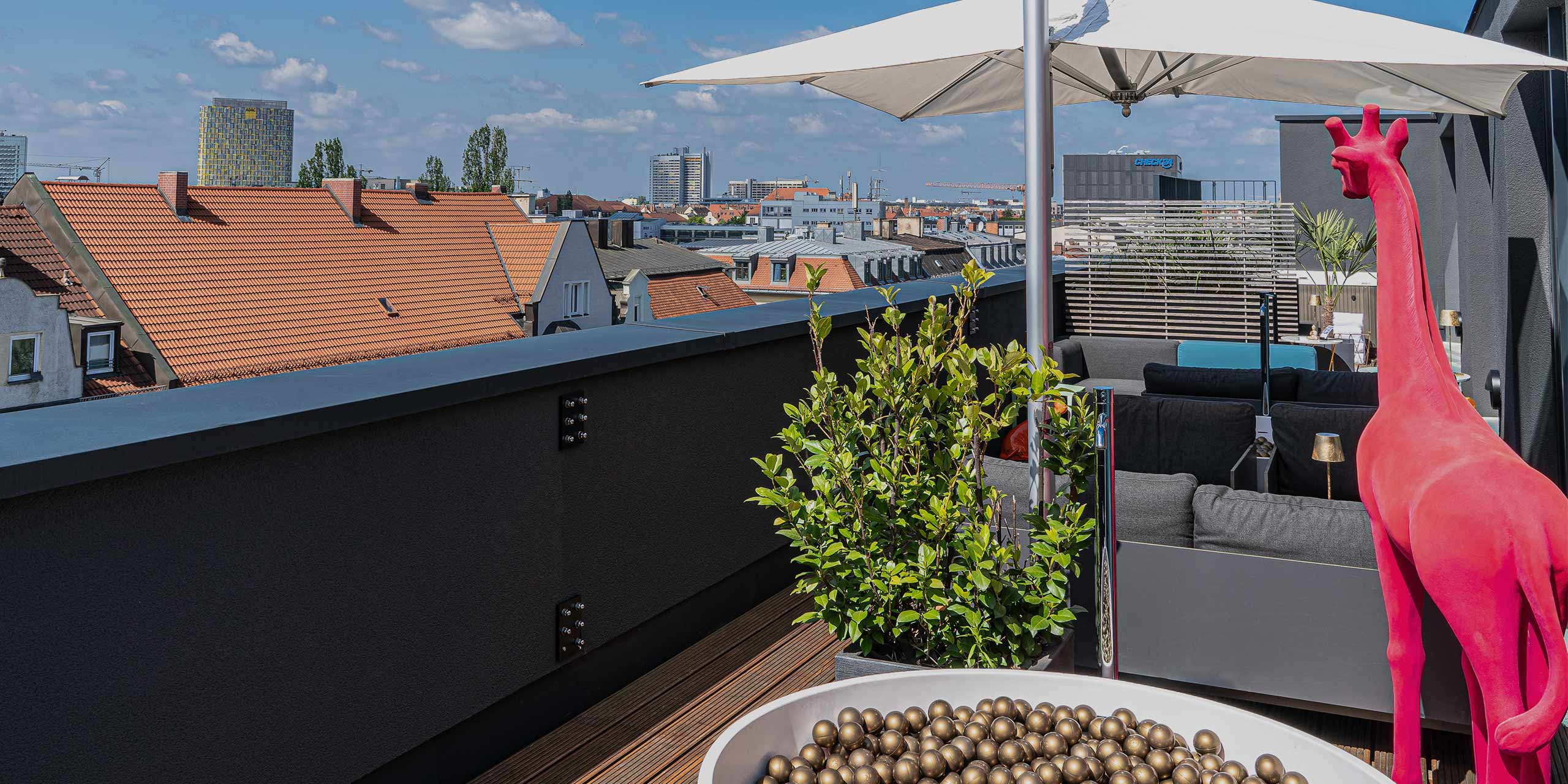Roomers Munich   Rooftop Spa